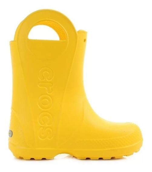 Crocs Botas De Lluvia Niños Talle 29-30