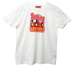 Camiseta De Niño Ferrari, Coche Speed