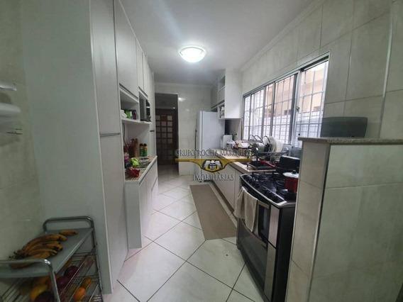Sobrado Com 3 Dormitórios À Venda, 70 M² Por R$ 790.000 - Bresser - São Paulo/sp - So1373