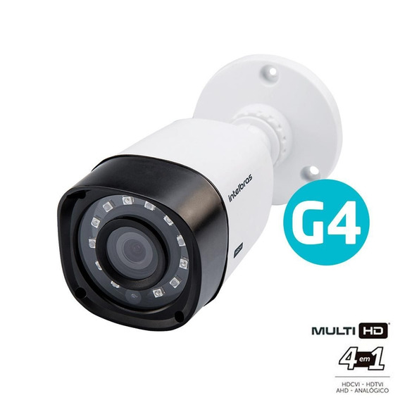 Câmera Ir20 2.6mm Multi Hd Vhd 1120 Bullet G4 - Intelbras