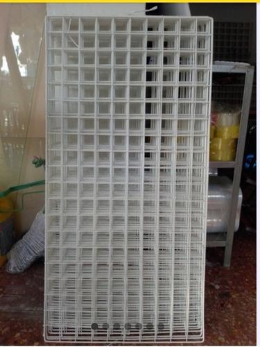 Imagen 1 de 1 de 5 Rejas Mallas Exhibidoras De 1 M X 50 Cm Cuadro Chico 5 Cm