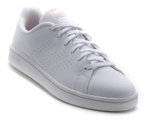 Tenis adidas Advantage Blancos Para Dama Envio Gratis