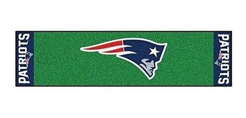 Imagen 1 de 5 de Fanmats Nfl New England Patriots Cara De Nylon Con Tapete Ve