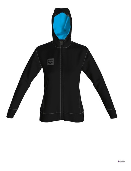 Buzo Arena W Essential Hooded F/z Jacket Arena