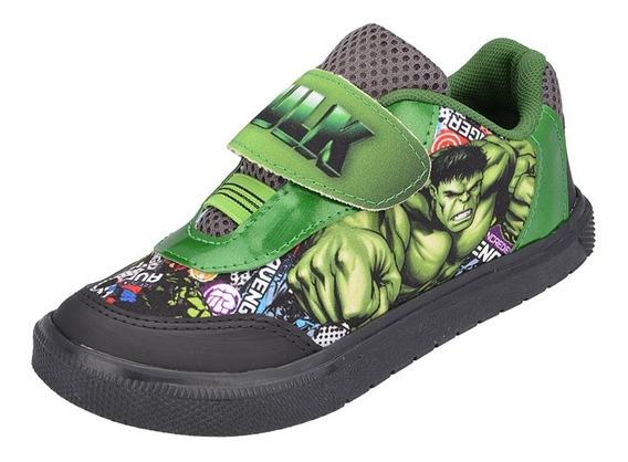 Tênis Infantil Incrível Hulk Avengers Vingadores Menino Promoção Barato