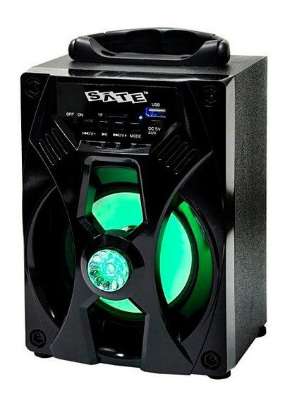 Speaker Satellite As-3823 + Usb + Buetooth + Sd + Wireless + Fm + Aux-in + Nota Fiscal + 12 X Sem Juros