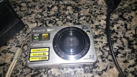 Antiga Camera Sony Cyber-shot Fotográfica 7.2 Mega Pixels