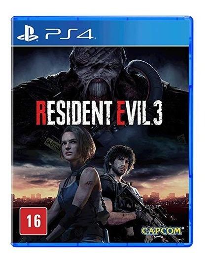 Resident Evil 3 Remake Ps4 - Mídia Física