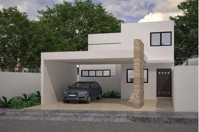 Casa De 3 Habitaciones Y Piscina Al Norte De Merida En Conkal 68