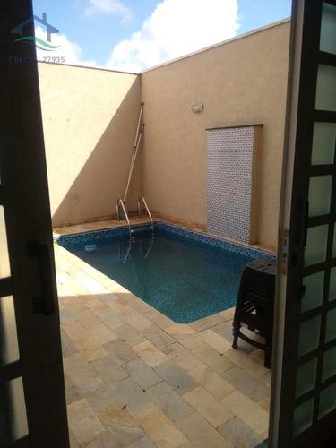 Casa Com 4 Dormitórios E Piscina- Atibaia- Cod:2786 - V2786