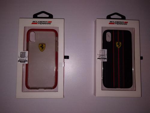 Forro Ferrari iPhone X