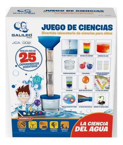 Juego La Ciencia Del Agua Galileo