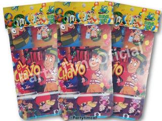 Chavo Animado Tarjetas Invitacion Recuerdos Cotillón Y
