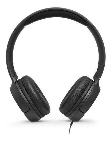 Headphone Jbl Tune500 Preto Original Com Fio