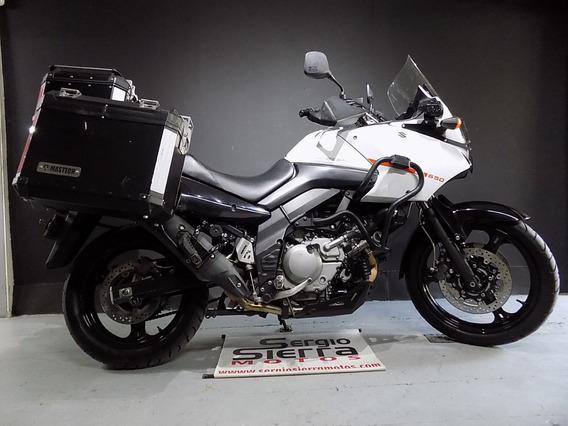 Suzuki Vstrom650 Blanca 2015
