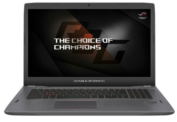 Asus Rog Strix Gl702vmk I7-7700hq Gtx 1060- 16gb Ram Gamer