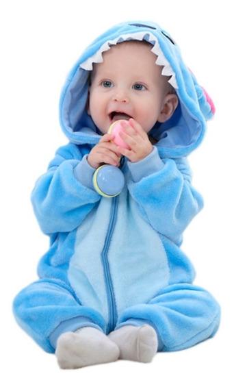 Mameluco Bebé Pijama Stitch