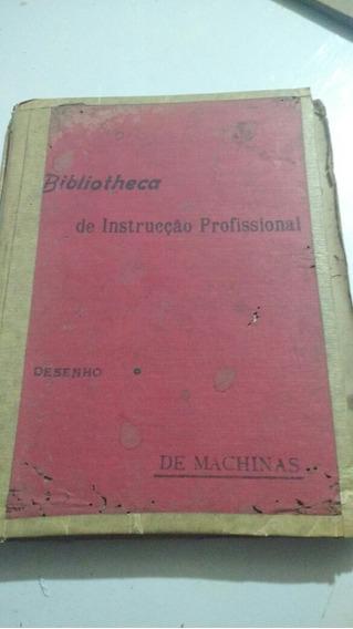 Antigo Livro Desenho De Machinas