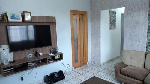 Apartamento Com 3 Dormitórios À Venda, 82 M² Por R$ 365.000,00 - Campo Grande - Santos/sp - Ap5444