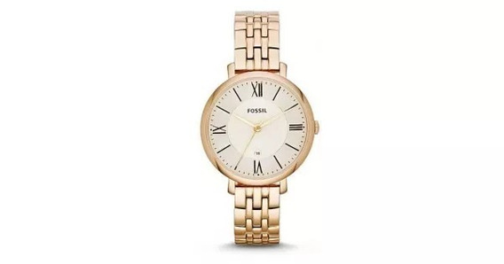 Relógio Fossil Feminino Dourado Es34344xn