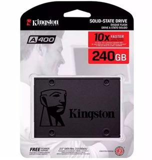 Disco Solido 240gb Kingston A400 Ssd Sata 3 Simil Uv400