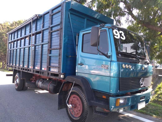 Caminhão Toco Gaiola Boiadeira, Mb 1218, 1993!