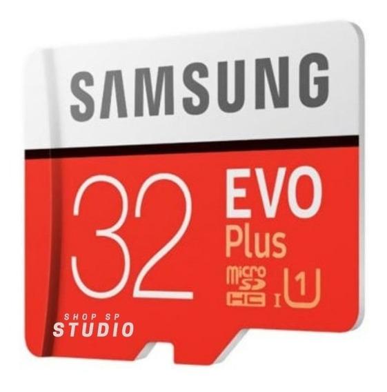 Cartão Samsung Micro Sd Evo Plus 32gb Uhs-1 Sd Original
