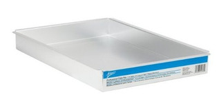Rectángulo De La Cacerola De Aluminio De Ateco 12 Por 18 Por