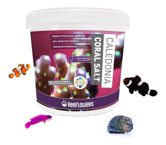 Balde De Sal Marinho Reeflowers Caledonia Coral Salt 6,5kg