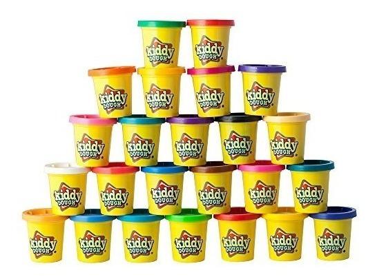 Kiddy Dough 24 Pack Of Color Play Dough - Mega Modeling