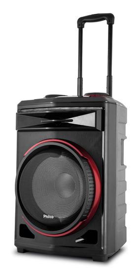 Caixa Acústica Philco Pcx6500 380w Bluetooth Bateria Até 8h