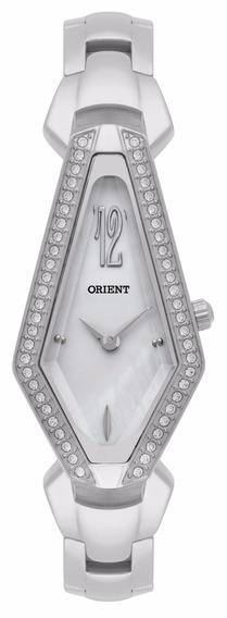 Relógio Orient Original De Fábrica, Prateado Lbss0075