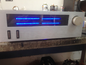 Vu Meter Led Gabinete Gradiente Receiver
