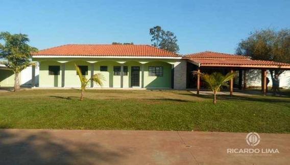 Chácara Para Alugar, 3000 M² Por R$ 3.500/mês - Santa Rita - Piracicaba/sp - Ch0125