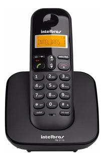 Telefone Sem Fio Mesa Bina Identificador Intelbras Ts3110 Nf