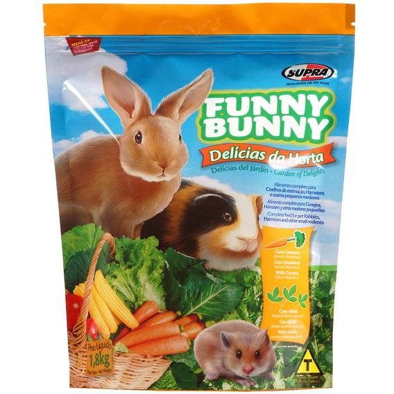Funny Bunny Ração Delícias Da Horta - 1,8kg