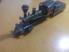 Trem Locomotiva Ferreomodelismo 1/87 Ho Papermodel