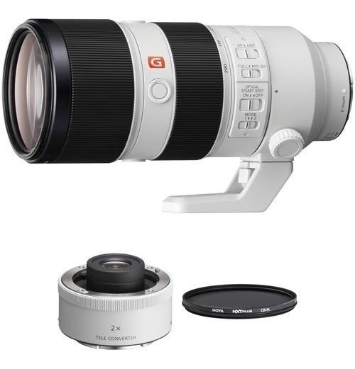 Sony Fe 70-200mm F/2.8 Gm Oss Lente E 2x Teleconverter