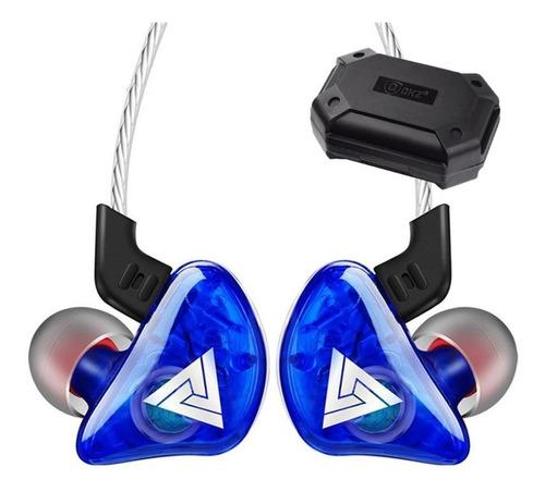 Imagen 1 de 4 de Qkz Ck5 Con Micro + Estuche Audifonos Envio Full Azul