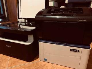 Lote Impresoras Hp1102 Brother1617 Xerox 3020 Para Reparar