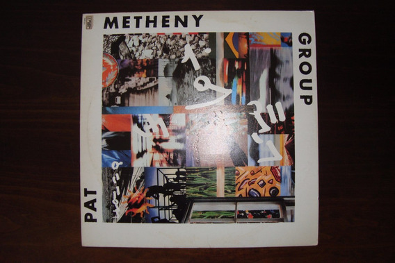 Disco Vinil Pat Metheny Group- Letter From Home - 1989
