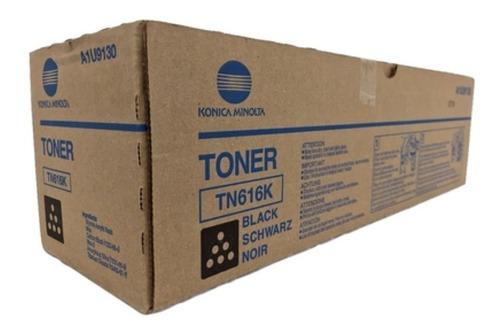 Imagen 1 de 3 de Toner Konica Minolta Tn616k Original Negro C6000/7000 Oferta