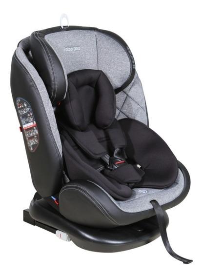 Cadeira Auto Gaia 360º Isofix Reclina Preta 0-36kg Galzerano