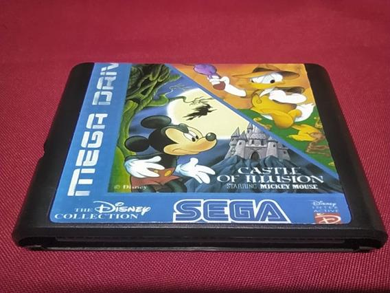 2 Em 1 Disney Collection Mega Drive (paralelo Novo)