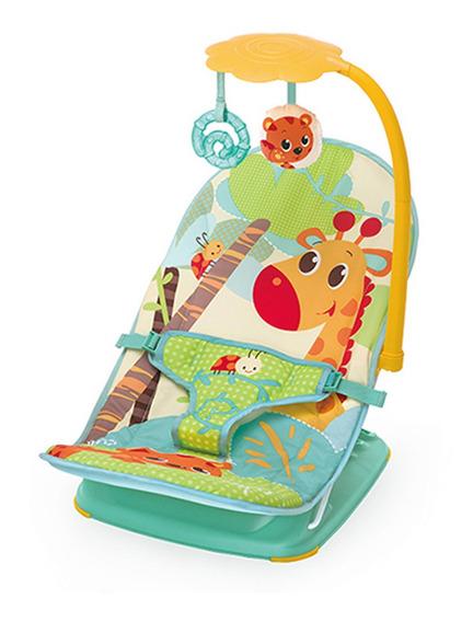 Cadeira De Descanso Vibratória Verde Girafinha Mastela-7221