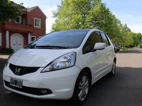 Honda Fit Blanco 1.5 Ex-l At 120cv 2011