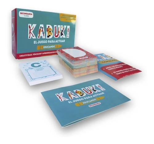 Kabuki Educando Secundaria Juegos De Mesa Teatrales Familiar