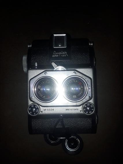 Máquina Fotográfica Duplex Super 120. Ano 1955, Funcional!