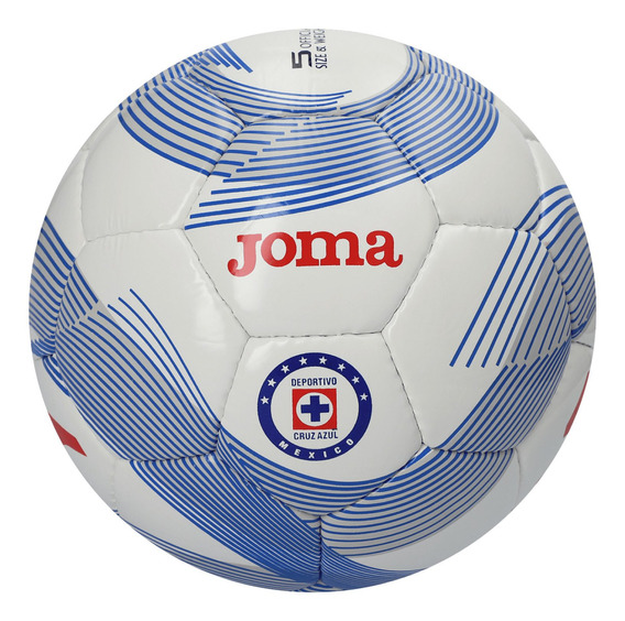 Balón Joma Futbol Cruz Azul White Royal Multicolor