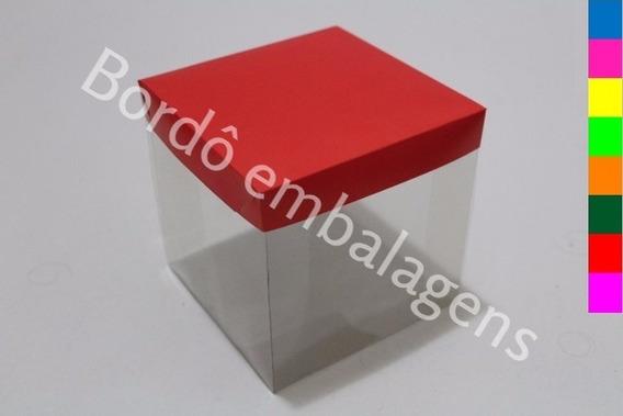 50 Caixas Caneca Lembrancinhas Brindes 12x12x12 Colorida